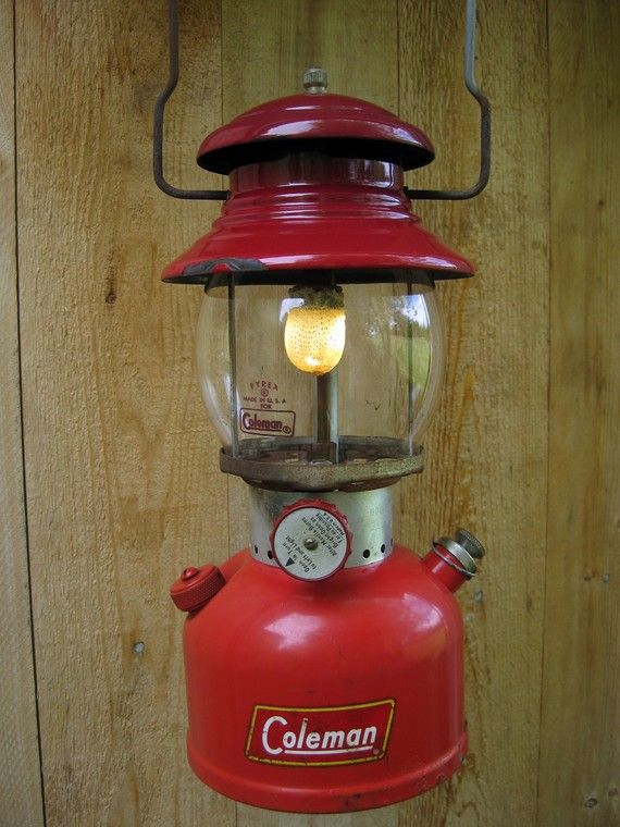 The classic single mantle by Coleman! coleman lantern