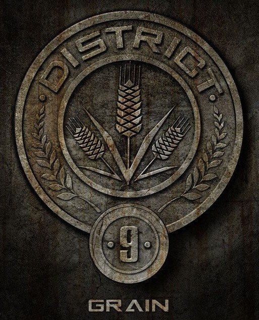 I got: District 9 Considered Panem's bread bowl, District 9 is responsible for grain. The District has 12 mills in operation with a population of 15,000, making it the second smallest District in Panem. This district tends to perform poorly in the Hunger Games because of its urban nature and lack of experience in weaponry.
