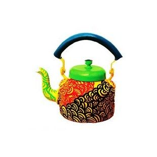 Funky kettles that can be used to add a dash of color to your kitchen, garden, room. They can be used as pen stands, to stack up your ladles and spoons or simply as a trinket box. Take your pick!