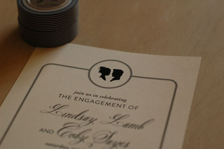 engagement party invitations cards