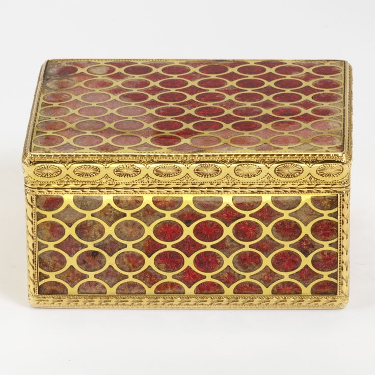 Snuffbox, Claude Lissonet, 1753-4, Paris, museum no. 265-1878 | The Victoria and Albert Museum, London. Bequeathed by George Mitchell