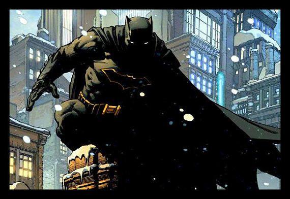 Silent Night  Batman 20 x 30 Poster Print  DC