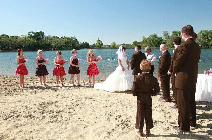Lodi lake wedding