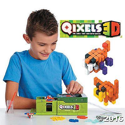 qixels 3d maker instructions