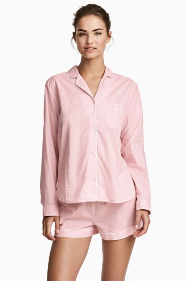 Cotton pyjamas - Pink/Patterned - Ladies | H&M GB
