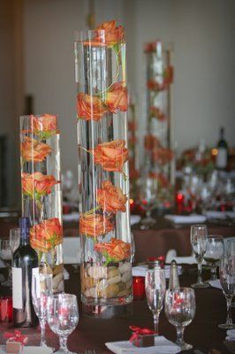 submerged centerpieces   Floral Design Class: Submerged Trios & Sculptural Centerpiece