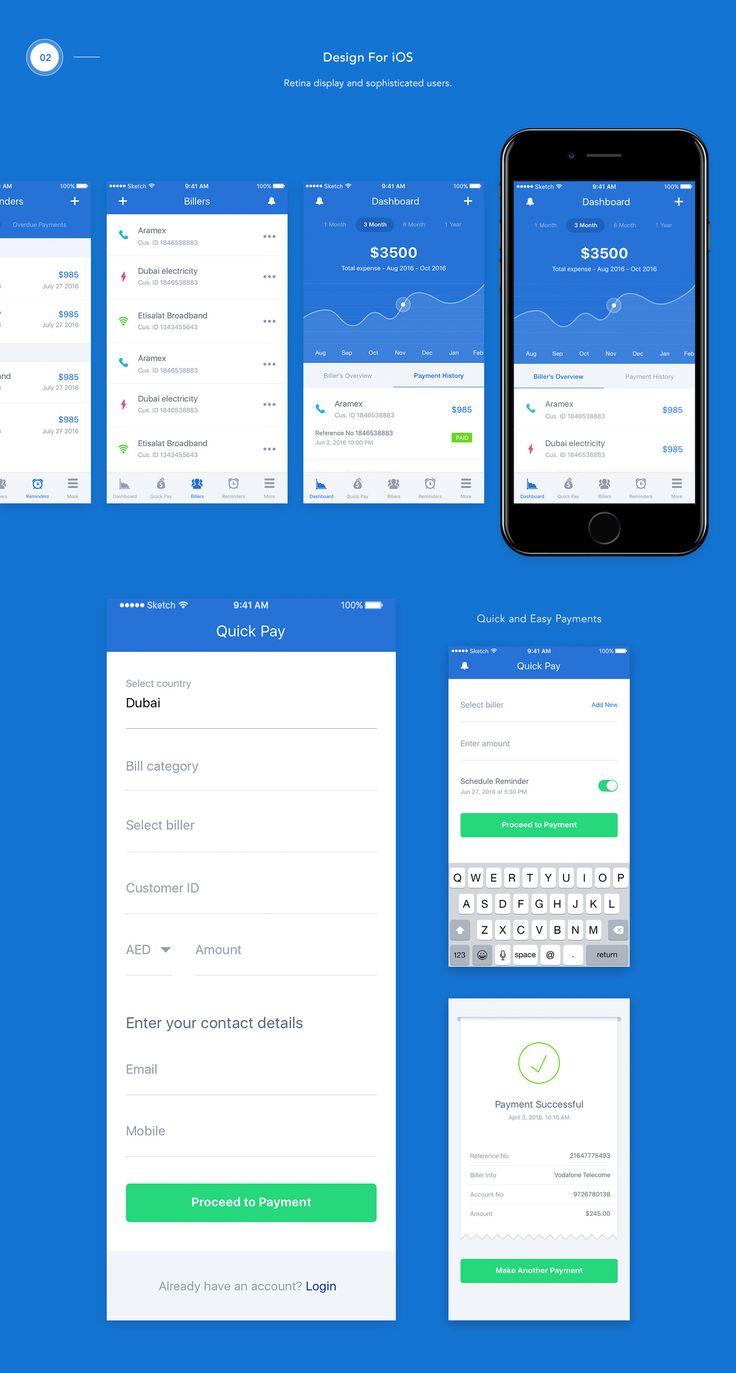 YuPay – A Bill Payments App on Behance