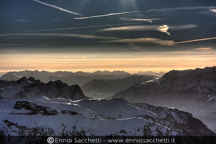 Tramonto in Trentino - Mountain sunset