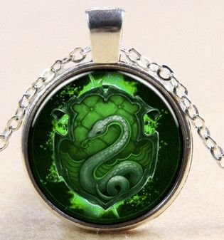 Harry Potter Slytherin Pendant Necklace
