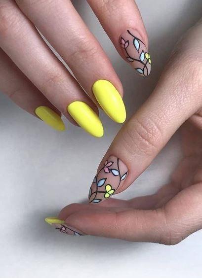 best summer nail art design idea   Trendy nail in 2019   Nails, Nail ...