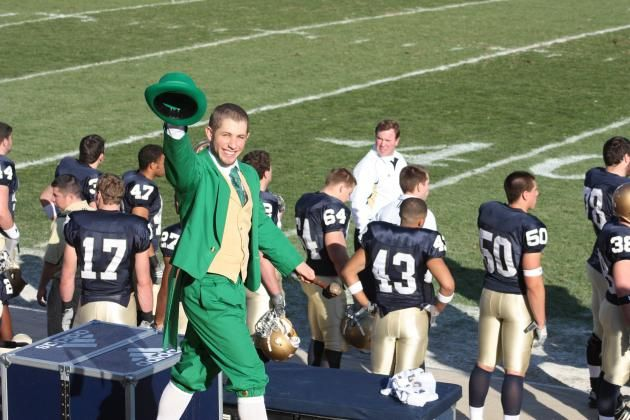 Notre Dame Football: The Leprechaun's Guide to Game Day