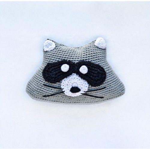 40 besten Crochet pillows owls & raccoons Bilder auf Pinterest ...