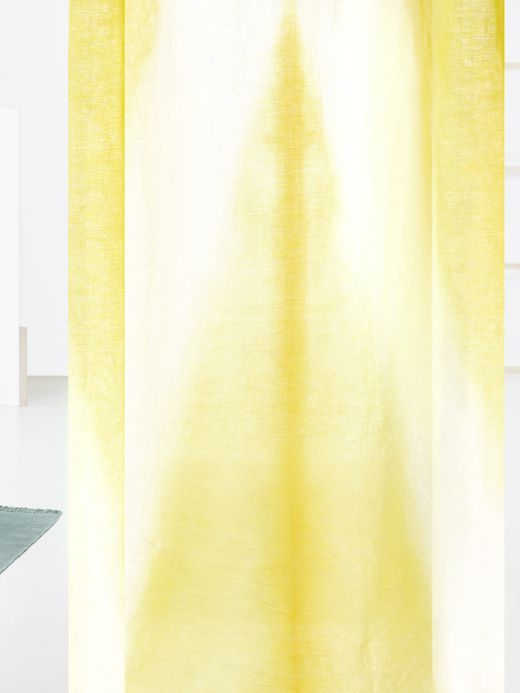 Yellow Dipper curtain from our Kinnasand collection