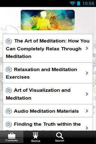 """Introducing.. """"The Art Of Meditation""""<p>Here's what you can get inside this guide:<p>The Art of Meditation: How You Can Completely Relax Through Meditation<br>Relaxation and Meditation Exercises<br>Art of Visualization and Meditation<br>Audio Meditation Materials<br>Finding the Truth within the Pages of a Meditation Book<br>Meditation CD: Introducing You to the World of Meditation<br>Meditation Chair: A Useful Tool for Meditation<br>Comfortable and cool meditation with stylish meditation…"""