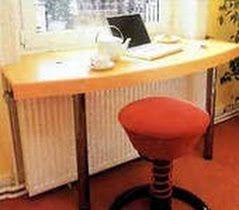 как сделать, как сделать стол из подоконника, письменный стол подоконник, подоконник компьютерный стол, подоконник рабочий стол, подоконник ...