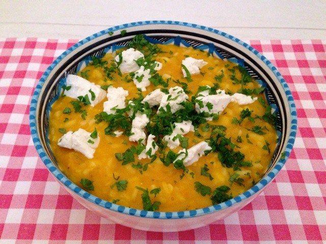 Pompoen risotto met geitenkaas | Het lekkerste recept vind je op AllesOverItaliaansEten
