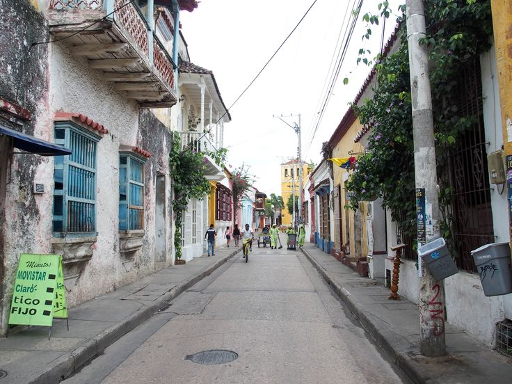 Wandering in the streets of Cartagena, Colombia.
