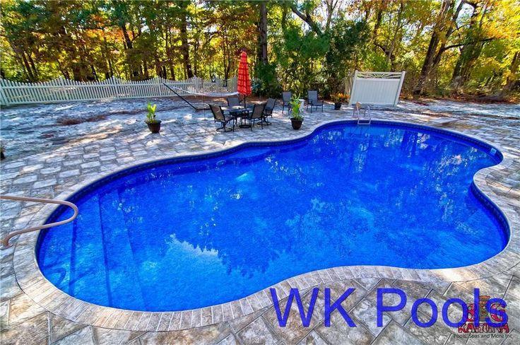 14 39 x 39 28 m0utain oasis inground swimming pool kit for Garden swimming pool kits