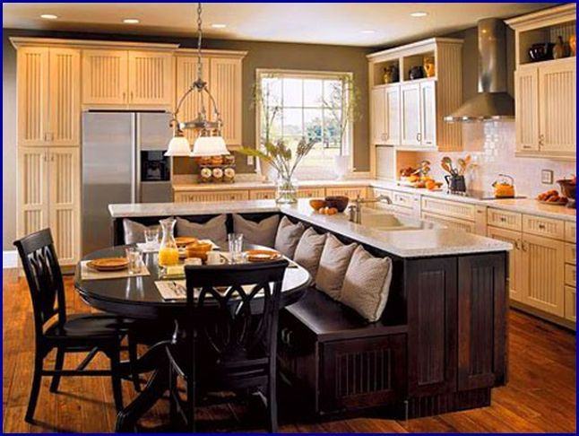 30 Best Kitchen Island Images On Pinterest  Kitchens Modern Impressive Combined Kitchen And Dining Room Design Inspiration