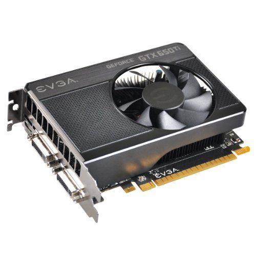 EVGA GeForce GTX 650 Ti 1024MB GDDR5 128bit, Dual Dual-Link DVI, Mini HDMI, Graphics Card (01G-P4-3650-KR) Graphics Cards 01G-P4-3650-KR by EVGA, http://www.amazon.com/dp/B009KUT322/ref=cm_sw_r_pi_dp_Mntprb1QGF12H