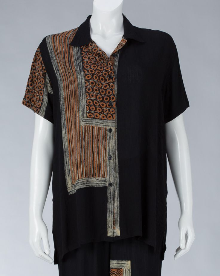 Top Long Sleeved with Collar #WomenSkirt #Dress #SummerFashion #Animale #WomenWear #WomenFashion #MotifClothes #LightClothes