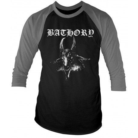 Tricou maneca 3/4 Bathory: Goat