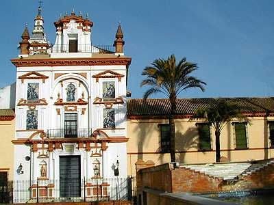 The Hospital de la Caridad of Seville was built in the 17th century.
