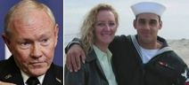 """AWAITING AN APOLOGY: An open letter from the mother of the first Navy Seal killed in Iraq to General Martin Dempsey: This after Dempsey was quoted as saying Ramadi, """"The city itself is not symbolic in any way."""" (04/20/2015- Fox News)"""