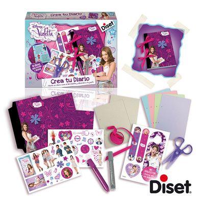 Niños Categorias Otros regalos Crea el diario de Violetta Disney Diset-