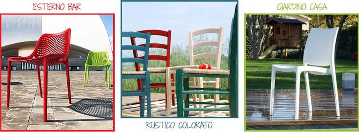 RINNOVA I TUOI SPAZI CON IL COLORE! Su Chairsoutlet puoi scegliere e acquistare l'#arredamento che più ti piace, per stile, materiale e prezzo, direttamente online. Puoi trovare: #Sedie da interno e giardino, #Poltrone da ufficio e da attesa, #Poltroncine in tessuto o pelle, #Sgabelli fissi e regolabili, #Tavoli in legno e metallo, #Tavolini per bar e caffetteria, #Accessori e complementi d'arredo #Casa, #Contract, #Horeca. Collegati subito su www.chairsoutlet.com