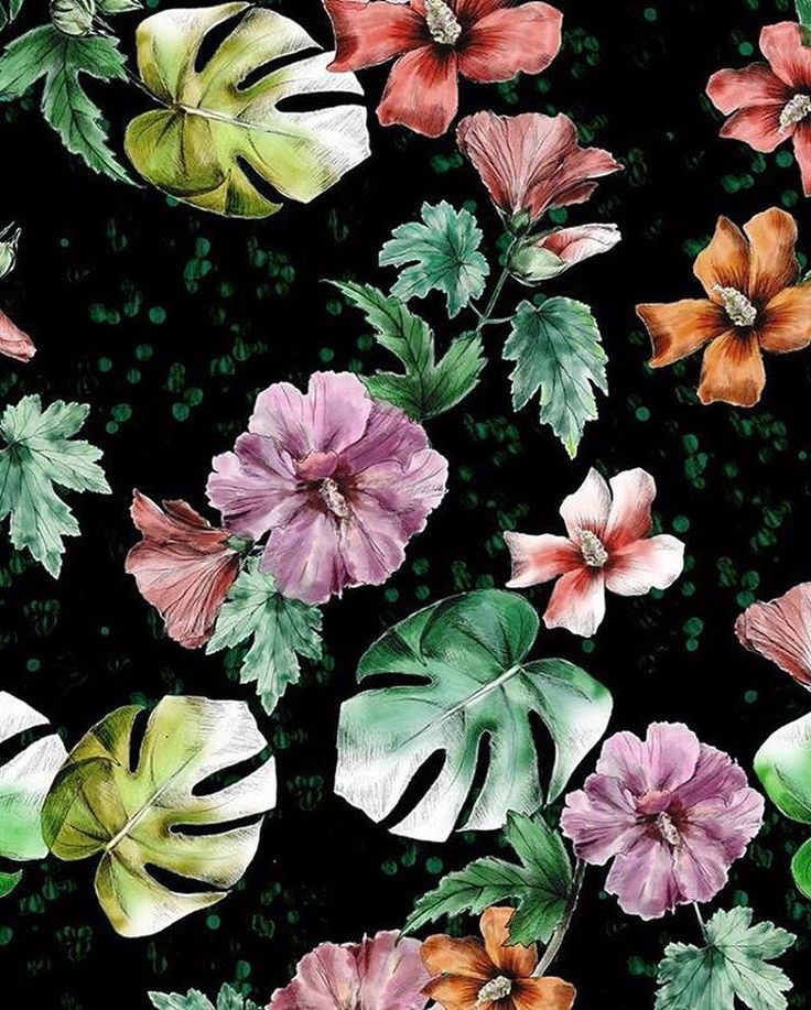 #patternbankdesigner » https://patternbank.com/victoriakrupp « My #watercolor #flowers #pattern on #patternbank #newonpatternbank #floral #surfacepattern IG: @victoriakrupp.patterns