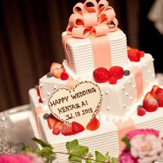 まるでプレゼントのようなときめくデコレーションに胸キュン♪ | 8G Bridal(大阪府:レストラン) | 結婚式場・結婚準備の口コミサイト-みんなのウェディング [写真から探す]