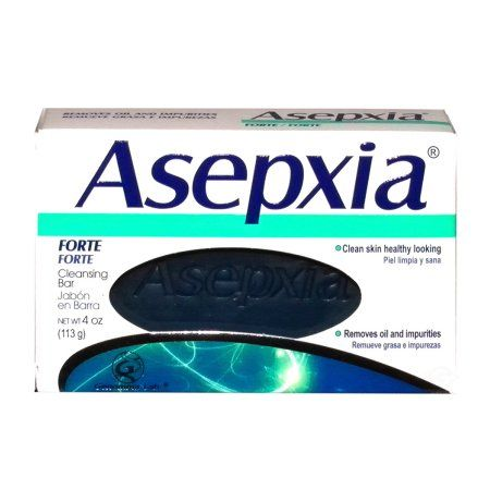 Asepxia Soap Forte 4 oz - Jabon Fuerte (Pack of 24)