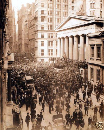 Wall Street Bankers' Panic of 1907 8x10 Photo New York | eBay