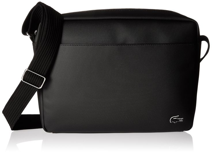 Lacoste Men's Airline Bag, Black
