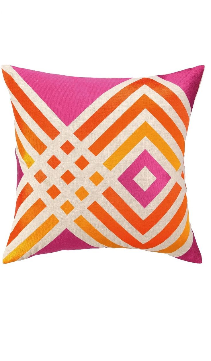 Pillows, Designer Pink Embroidery Fashion Pillow, so beautiful, one of over 3,000 limited production interior design inspirations inc, furniture, lighting, mirrors, home accents, accessories, decor and gift ideas to enjoy repin and share at InStyle Decor Beverly Hills Hollywood Luxury Home Decor enjoy & happy pinning