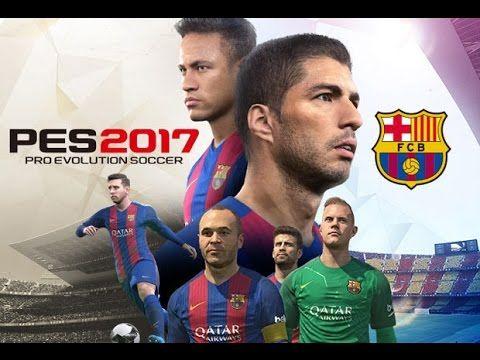 Pro Evolution Soccer 2017 FC Barcelona vs PSG Online Gameplay - YouTube