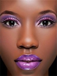 Purples! Wish I could pull it off.