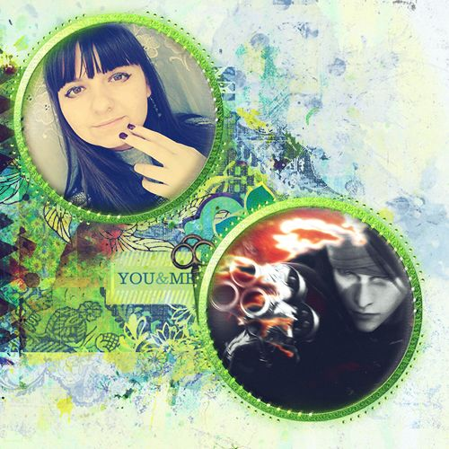 Vincent Valentine and Teodora. -My Edit-