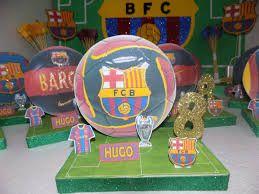 Resultado de imagen de centro de mesa del barcelona