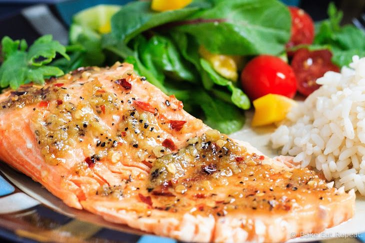 Spicy Chili Garlic Grilled Trout Recipe Main Dishes with trout fillet, olive oil, garlic cloves, brown sugar, crushed red pepper flakes, kosher salt, black pepper