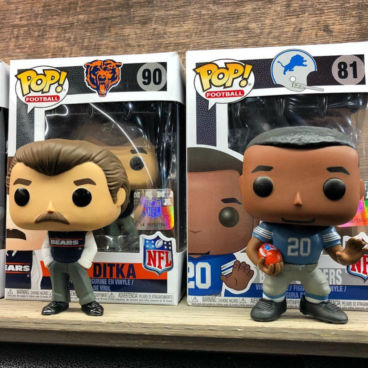 NFL Legends Mike Ditka and Barry Sanders from @originalfunko NFL Pop! Line. Anyone picking up the NFL line? #tfny18 #toyfair2018 #funko #funkopop #popnfl #mikeditka #barrysanders #nfl #football #PopCollector #funkoholic #funkofam