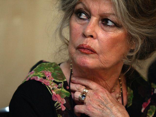 """Bless her heart!!!  Brigitte Bardot, is currently on trial for the fifth time for insulting Muslims and """"inciting racial hatred."""" Bardot has been fined four times and has also received suspended jail sentences. One fighter against islam in France..."""