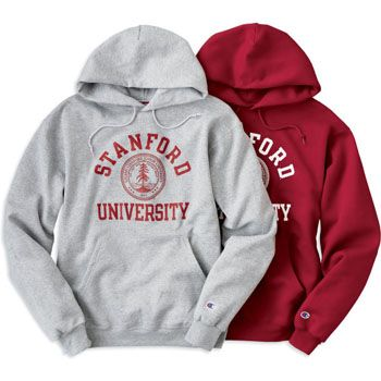 Champion® Men's Stanford Seal Hooded Sweatshirt