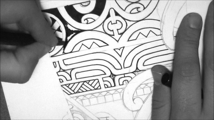 Marquesan tattoo design drawing a calf/forearm tattoo by tattoo ...