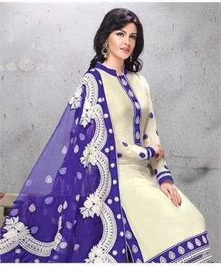 Chanderi Cotton Suit with Dupatta