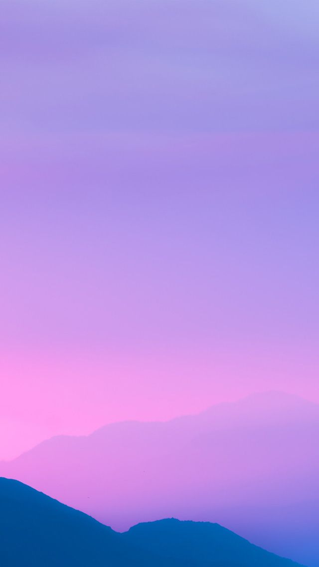 Nz11 Sky Purple Sunset Nature Blur In 2019 Wallpaper Purple