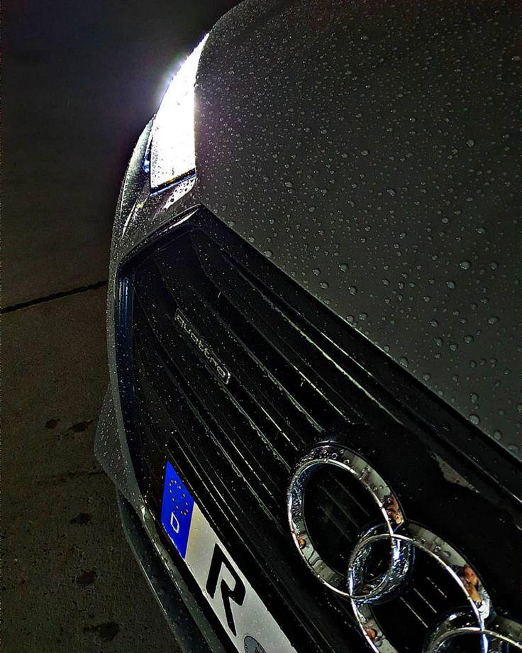 audi audia4 a4b9 limousine auto car dreamcar grau grey wet nass tropfen drops le…