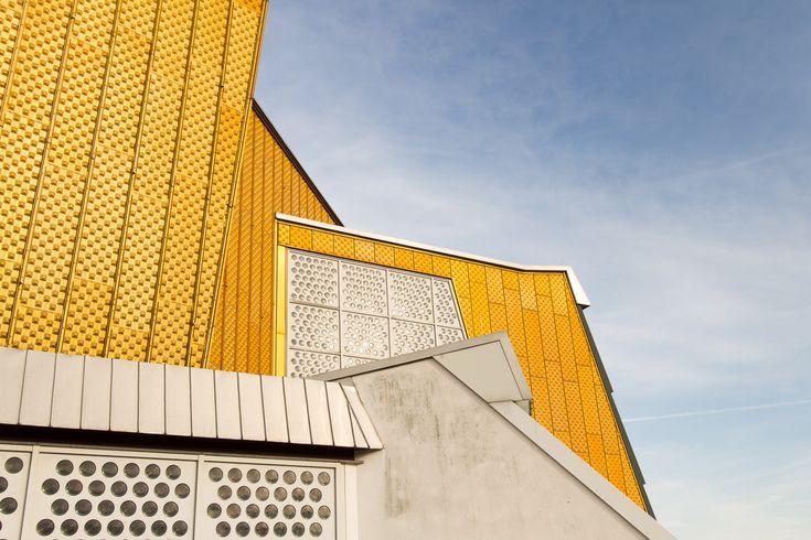 AD Classics: Berlin Philharmonic,© Photographs of Architecture