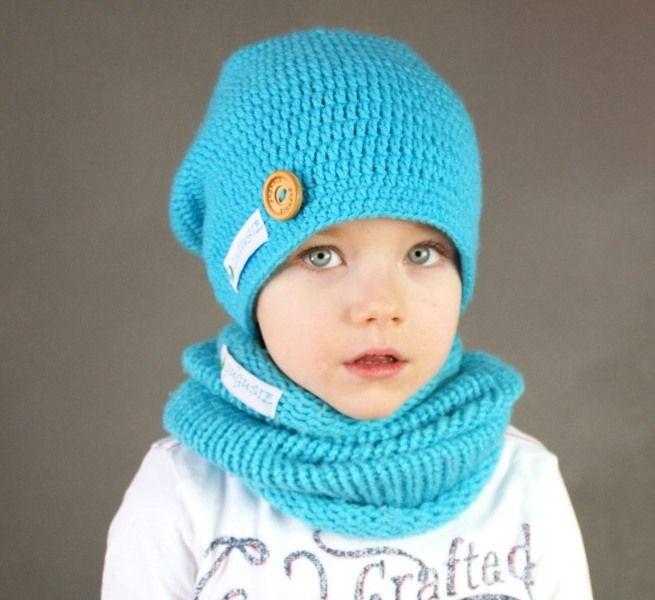 Szydełkowa czapka beanie krasnal smerfetka w GUGUSIE. Fantastyczne rzeczy robimy z włóczki! na DaWanda.com